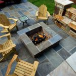 firepit with furniture