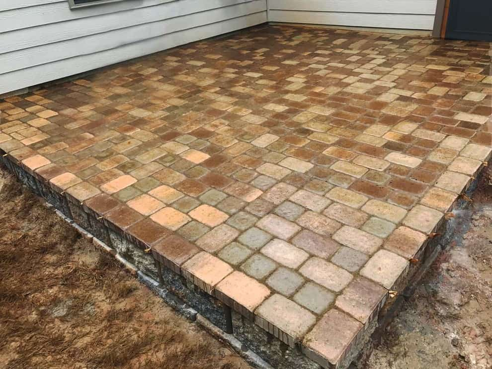 New Patio Installed