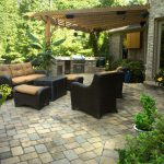 furniture on outdoor patio