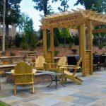pergola on outdoor patio