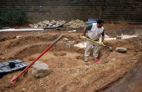 Backyard Landscape Construction