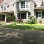 driveway and green grass